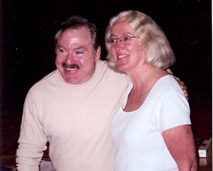 Carol with James Van Praagh