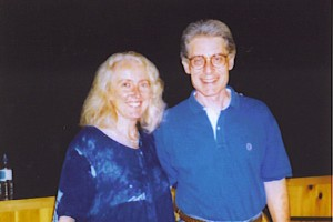 July 1998 at the Omega Institute after my past life regression with Dr. Weiss